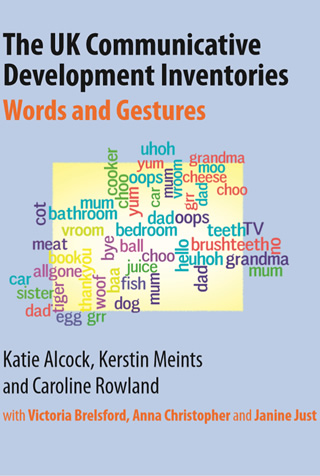 Book cover of The UK Communicative Development Inventories, Words and Gestures