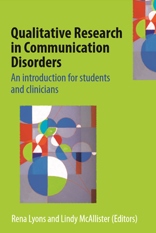 Book cover of Qualitative Research in Communication Disorders